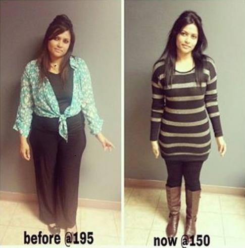 *Lost 45 lbs so far!